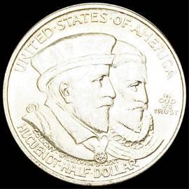 1924 Huguenot Half Dollar UNCIRCULATED