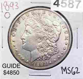1893-O Morgan Silver Dollar UNCIRCULATED