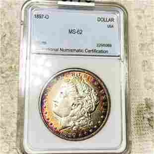 1897-O Morgan Silver Dollar NNC - MS62