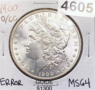 1900-O/CC Morgan Silver Dollar CHOICE BU