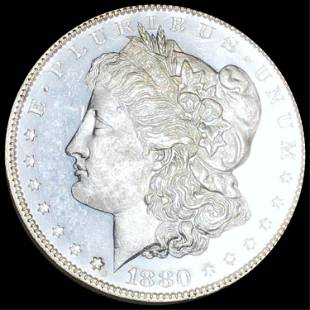 1880 Morgan Silver Dollar UNCIRCULATED