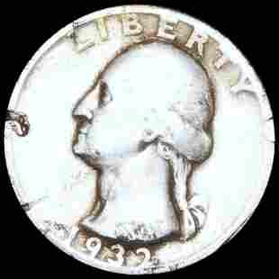 1932-S Washington Silver Quarter NICELY CIRC