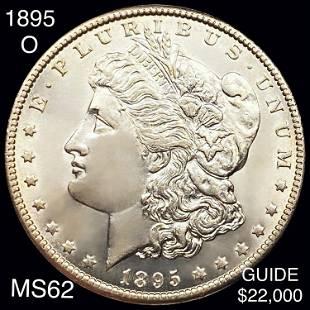 1895-O Morgan Silver Dollar UNCIRCULATED