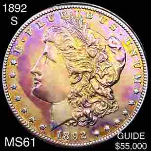 1892-S Morgan Silver Dollar UNCIRCULATED