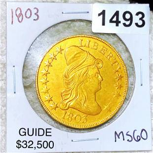 1803 $10 Gold Eagle UNCIRCULATED