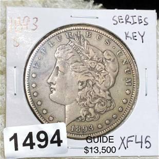 1893-S Morgan Silver Dollar LIGHT CIRC