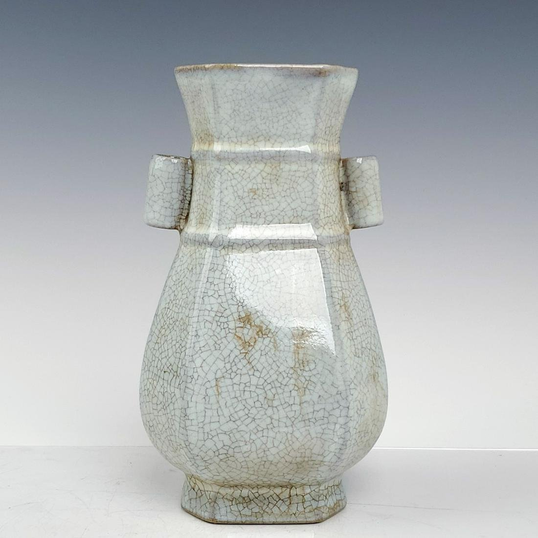 A Chinese Ru Kiln Porcelain Vase
