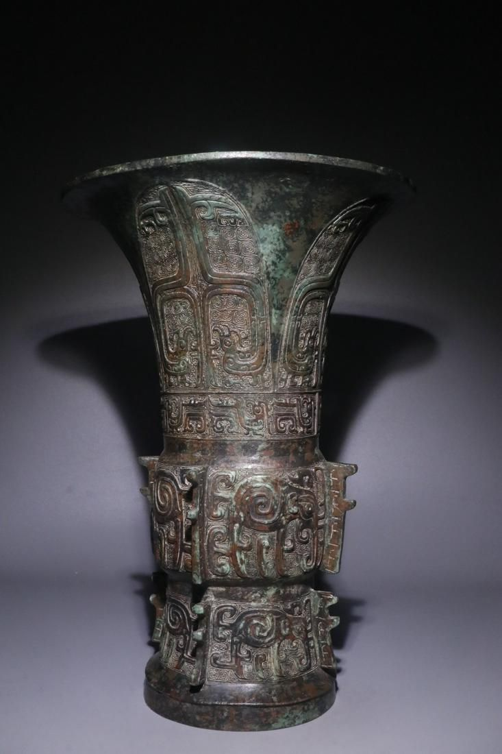 A Chinese Bronze Ware Vase