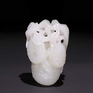 A Hetian Jade Hand Piece