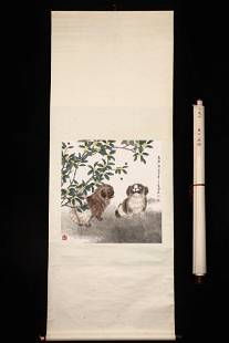 Painting of Animals, Fang Chuxiong Mark