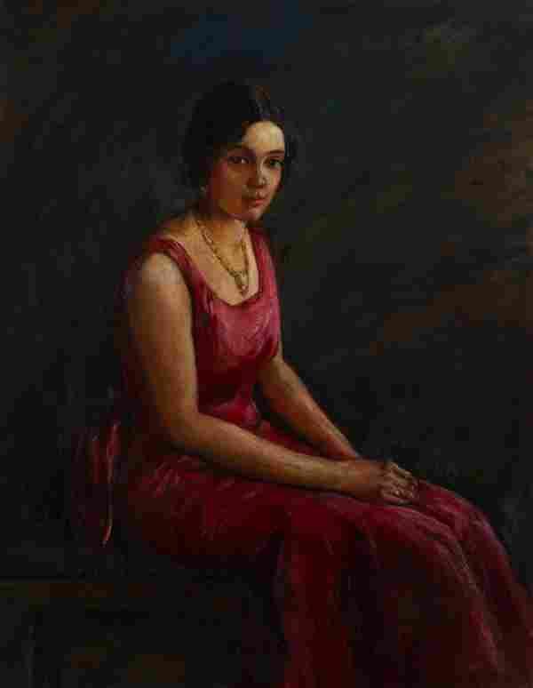 John Wesley Hardrick - Portrait of Irvena Harvey