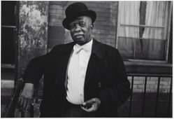 Dawoud Bey (b. 1953) - A Man in a Bowler Hat