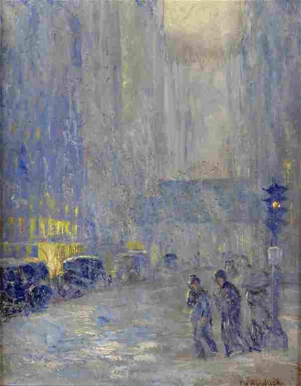 John Wesley Hardrick (1891-1968) - Indianapolis Street