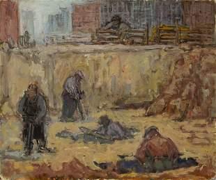 Dox Thrash (1893-1965) Construction Workers, Philadelph