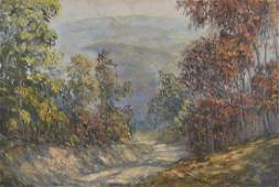 John Wesley Hardrick (1891-1968) - Brown County Road