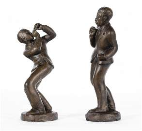 Augusta Savage, 1892-1962, Lot of two sculptures