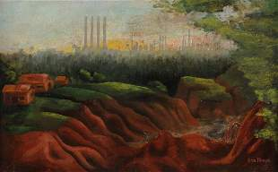 Charles Stallings, b. 1919, Red Clay, Dry Weather