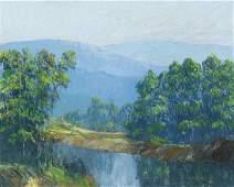 John Wesley Hardrick, 1891-1968, River Landscape