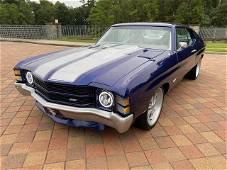 1971 Chevrolet Chevelle Pro Touring Build