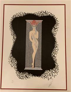 Romaine de Tirtoff Erte, 1892-1990 Serigraph