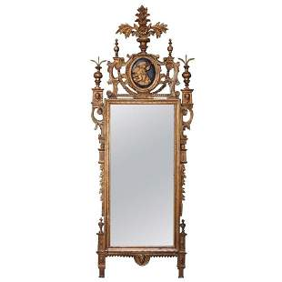 Late 18th C Italian Neoclassical Mirror
