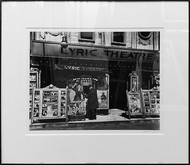 "ABBOTT, BERENICE ""LYRIC THEATRE"""