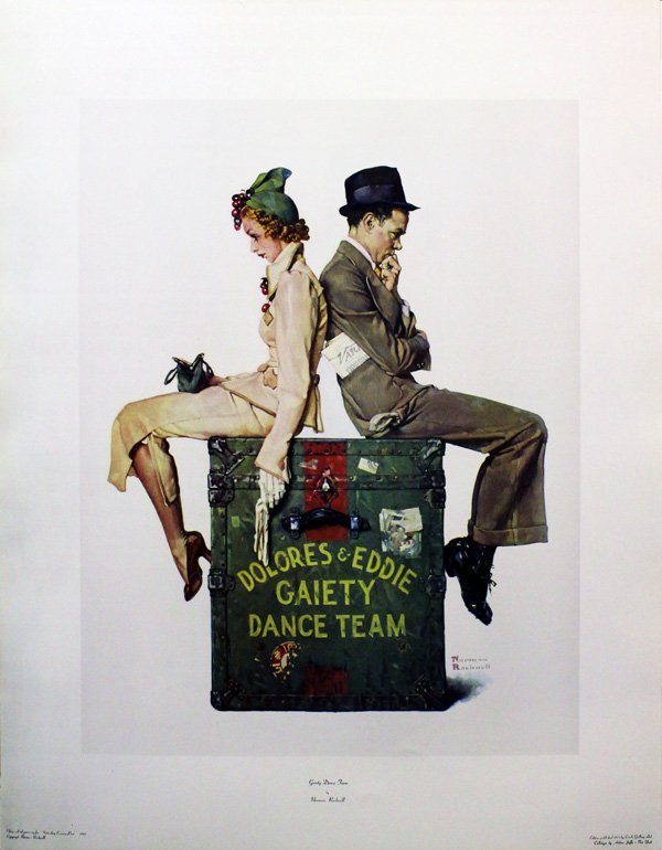 "ROCKWELL, NORMAN ""GAIETY DANCE TEAM"""