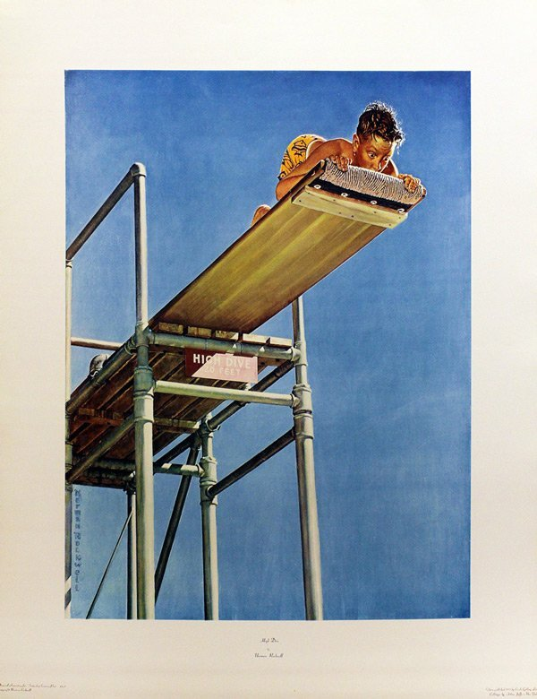 "ROCKWELL, NORMAN ""HIGH DIVE"""