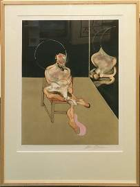 """BACON, FRANCIS """"SEATED FIGURE (S.5)"""""""