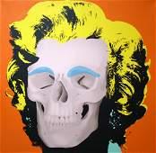 "Popovic, Heidi ""Marilyn Contemporary (Orange)"""