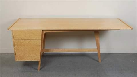 Birdseye Maple Custom Studio Desk by Enzo Bellini
