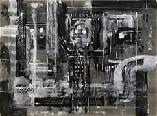 Milton Cavagnaro Abstract Painting Bay Area Artist