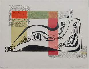 Dorr Bothwell (1902-2000) Surrealist Signed Print