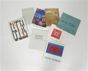 8 Books on Various Artists Graves Diebekkorn Albers