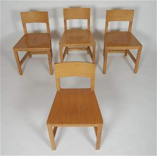4 Atelier Van Lieshout Shaker Chairs for Moooi 1999