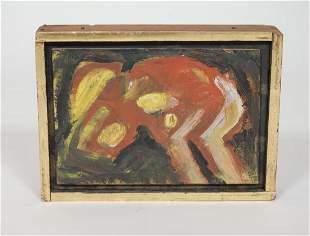 Craftsman / Artist Miles Karpilow 3 Abstract Paintings