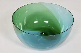 Tapio Wirkkala Coreano Glass Bowl for Venini