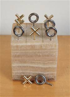 Jere Tic Tac Toe Game in Marble