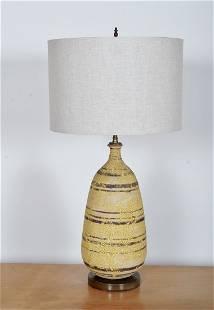 Edward D. Jay Studio Ceramic Table Lamp