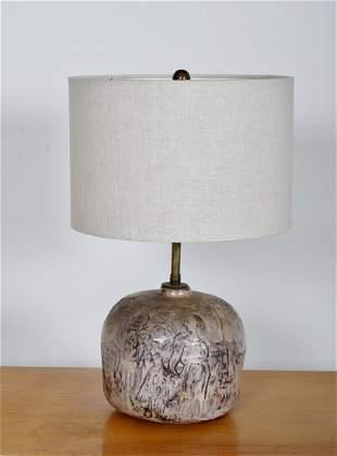 Studio Crafted Ceramic Lamp