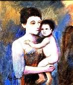 Mary Cassatt: Original Oil Painting
