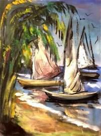 Beach Arrival - Original Painting