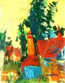 Wassily Kandinsky : Original Painting