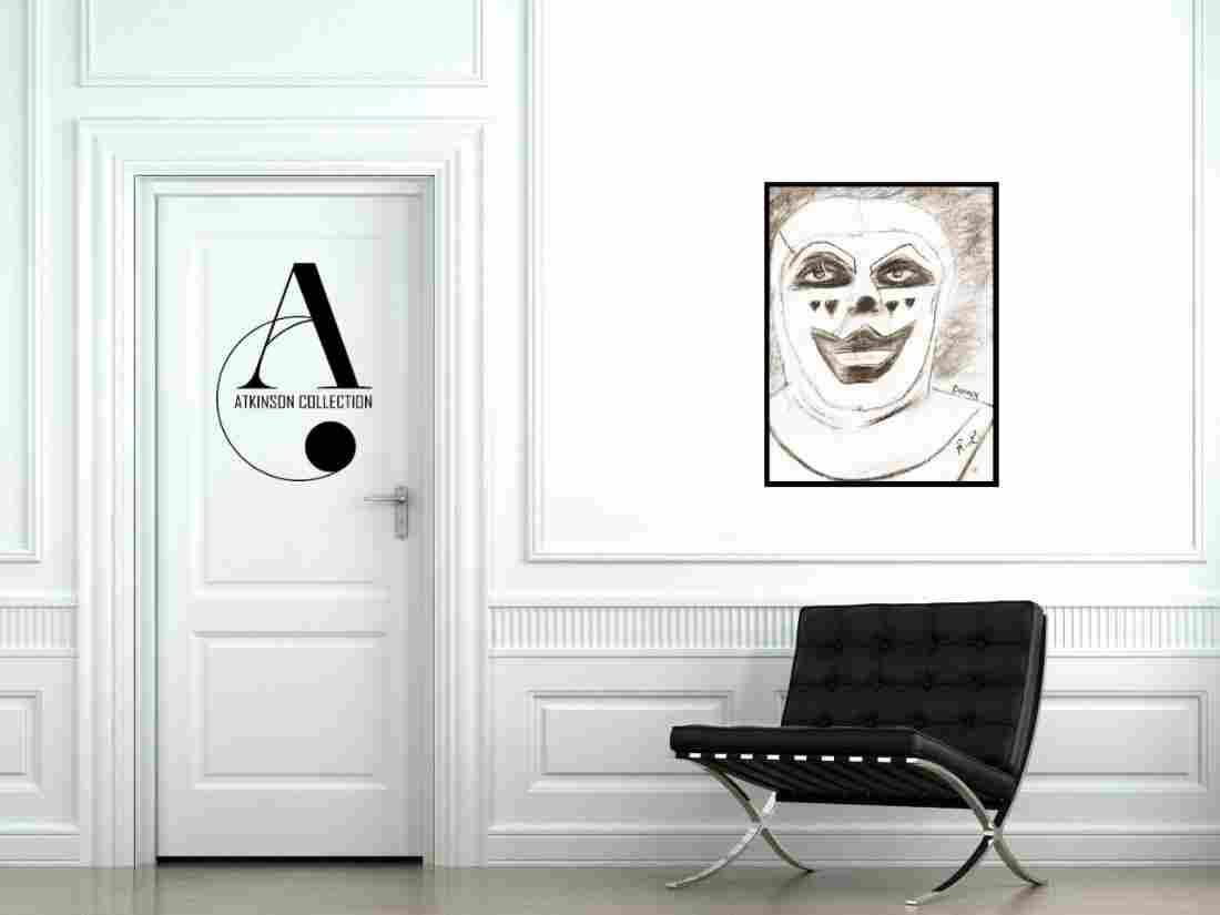Livingston: Doink the Clown - Original Drawing