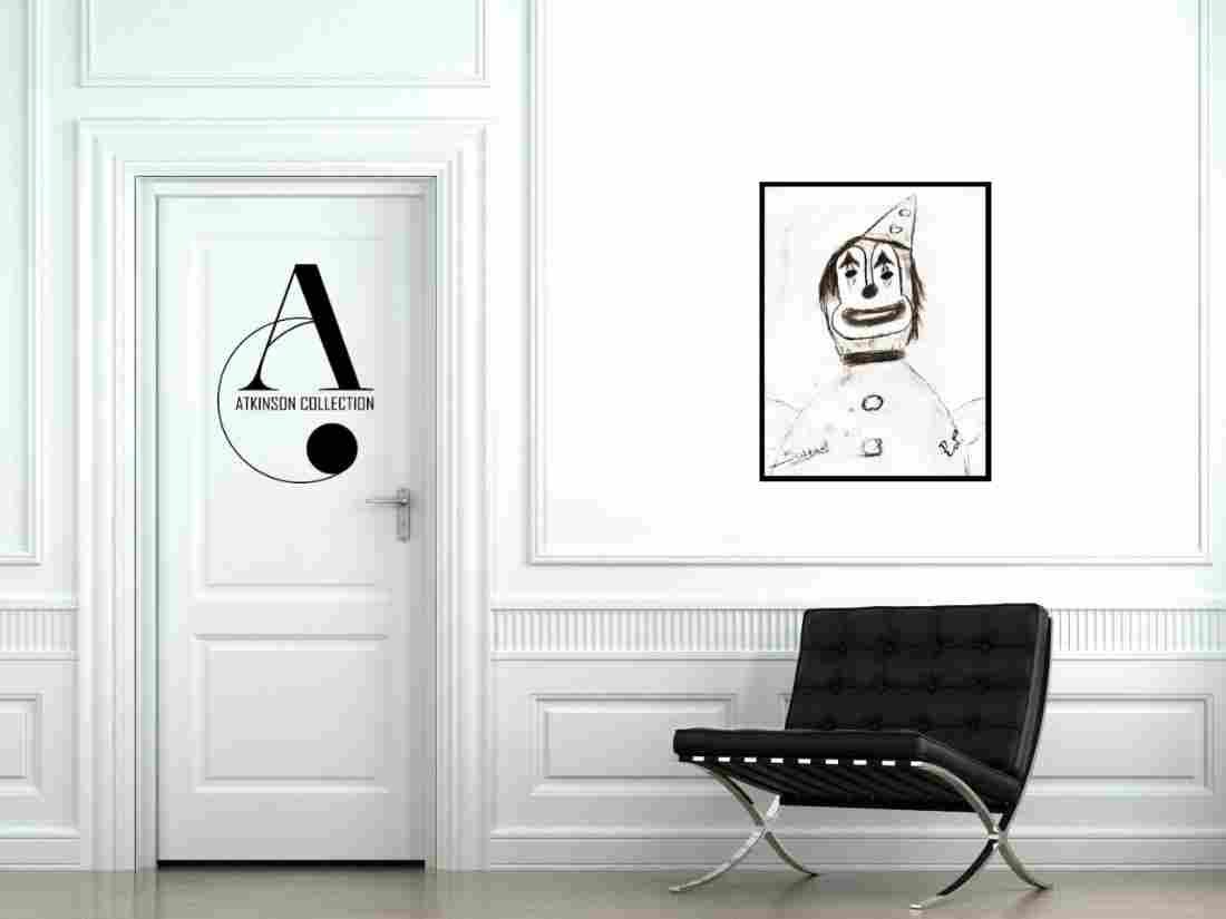 Livingston: Bubbles the Clown - Original Sketch