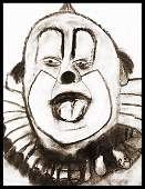 Livingston Clarabell the Clown  Original Sketch