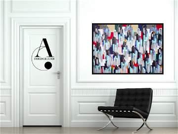Hall: City Lights - Original Painting