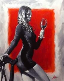 Mackey: First Taste - Original Painting