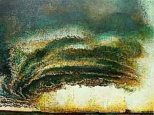 American Coming Storm - Original Painting