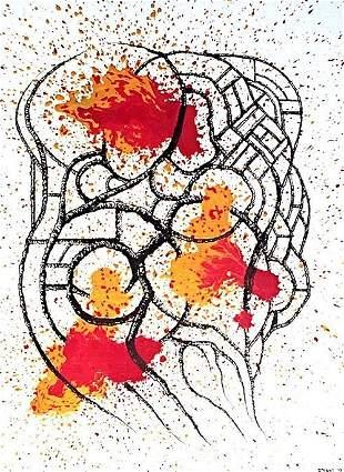 The Birth of Lava - Original Painting